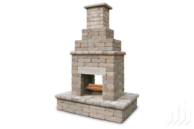 Serenity 175 Fireplace, General Shale Fireplace Kit