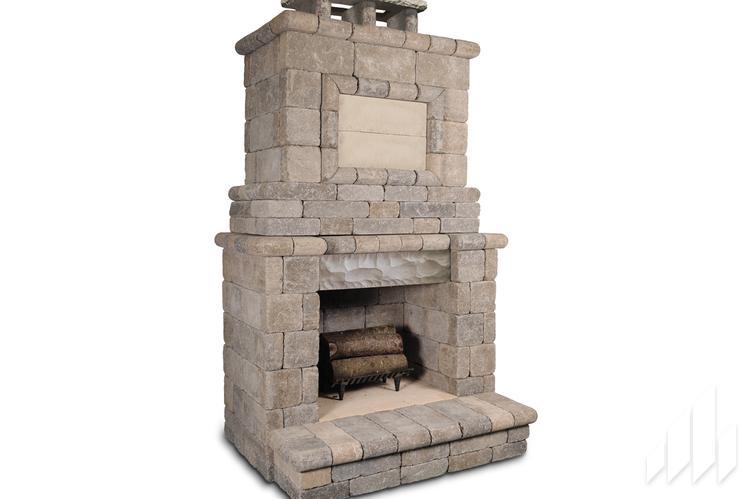 Serenity 200 Fireplace, General Shale Fireplace Kit