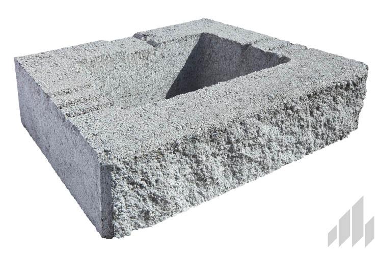 GeoStone 4x8x12 Gray