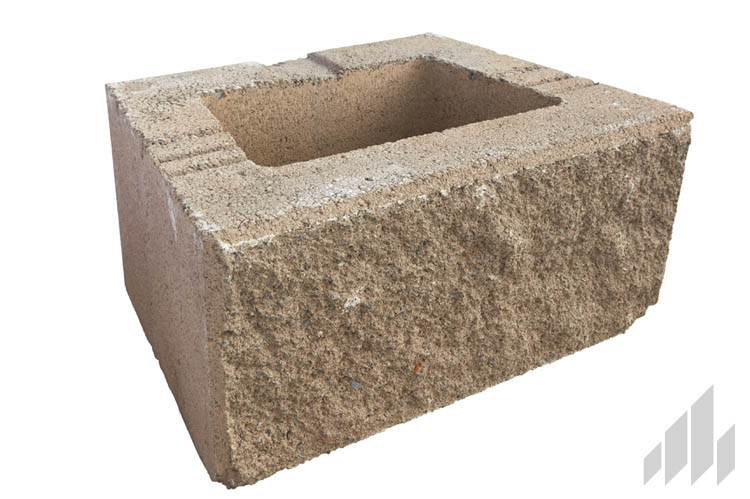 GeoStone 8x8x12 Square Foot Buff